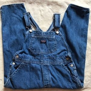 Used overall jeans for girls-size 6x